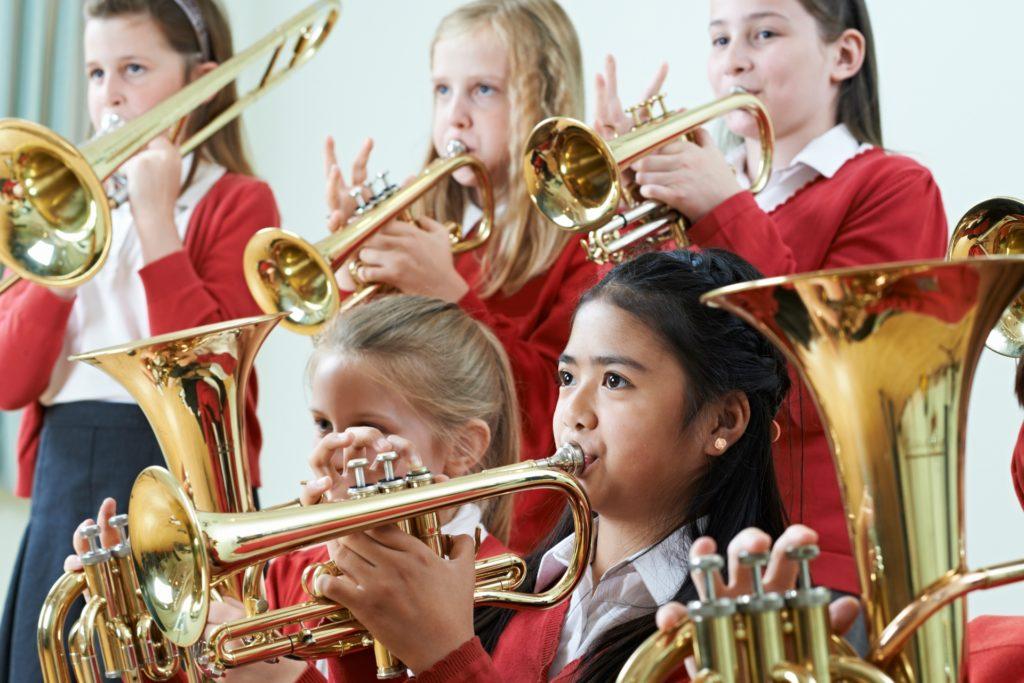 Trompetles in Weesp